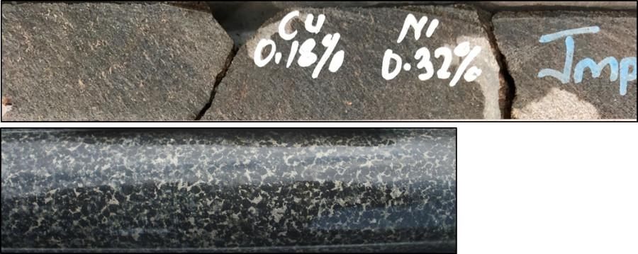 Type 1 mineralisation